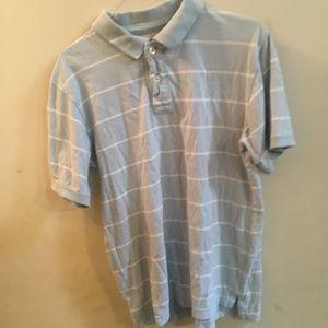 3/$30 Urban Pipeline Blue White Stripe Polo Shirt